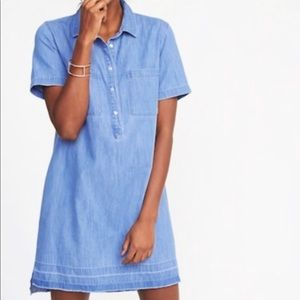 Old Navy Hemmed Demin Dress